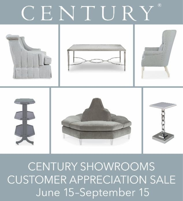 CENTURY FURNITURE CUSTOMER APPRECIATION SALE!
